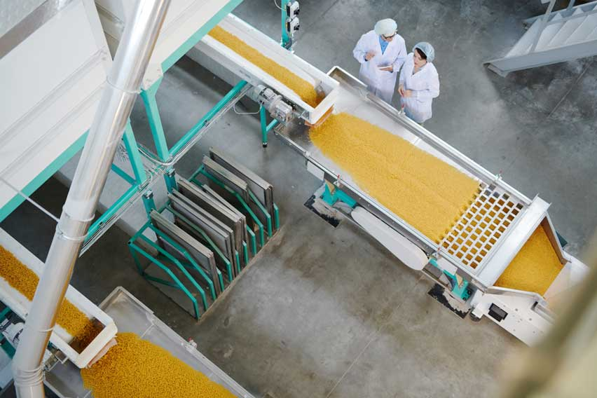 Food production industry